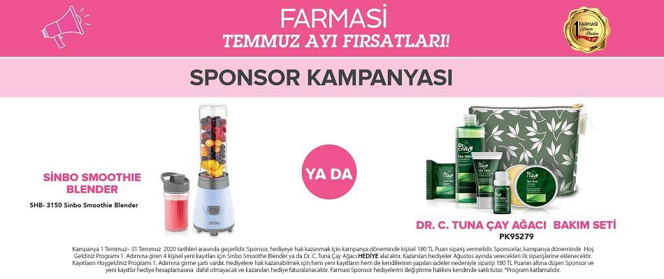 Temmuz Farmasi Sponsor Kampanyası 2020